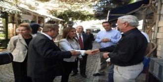 Mhp'li Vekil Adayları Foça'da Oy İstedi