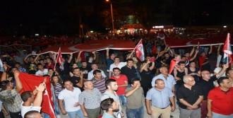 Milas'ta Binler Şehitler İçin Yürüdü