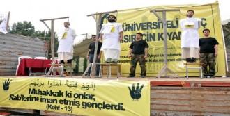 İdam Kararlarına Kefenli Protesto