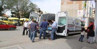 Mobil Çorba Dağıtım Araçları Hizmete Başladı