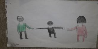 Mülteci Çocuklar Savaşı Resimledi