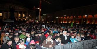 Münih'te Yine Pegida Karşıtı Gösteri