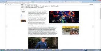 New York Tımes'tan 'rumı Suıte'e Övgü