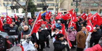 New York'ta Fethullah Gülen Protestosu