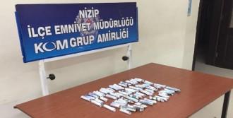 Nizip'te Uyuşturucuya 2 Tutuklama