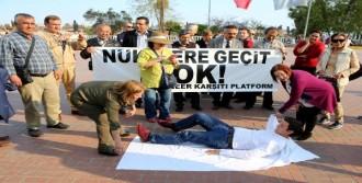 Nükleer Karşıtı Eyleme Turistlerden Destek