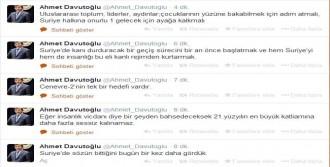 Fotoğraflar Davutoğlu'nu Kızdırdı