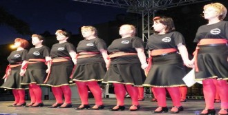 Ödemiş'te Balkan Halk Dansları Rüzgarı