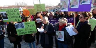 Öldürülen Zabıt Katibi Şenay İçin Yürüdüler