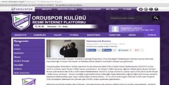 Orduspor Otoparkını Kaybetti