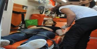Krize Giren Genç Kızı Polis Kurtardı