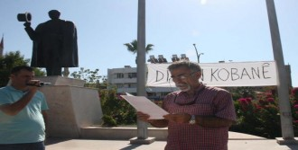Ortaca'da IŞİD Protestosu