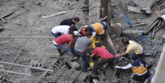 4'ü Suriyeli 7 İşçi Yaralandı