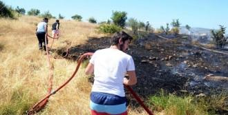 Otellerin Arasındaki Yangın Korkuttu