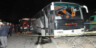 Otobüs, Aileye Çarptı:2 Ölü