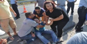 Otobüsün Altında Kalan 2 Çocuk Babası Öldü