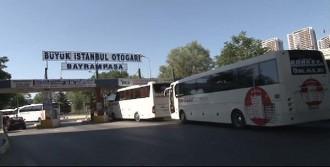 Otogarda Tatil Dönüşü Yoğunluğu