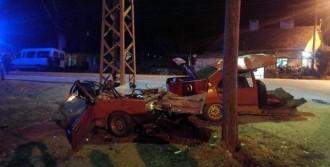 Otomobil İkiye Bölündü, Sürücü Öldü