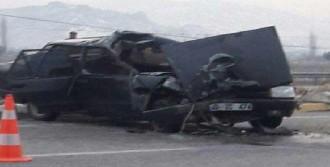 Alaşehir'de Kaza: 1 Ölü