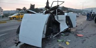 Milas'ta Kaza 2 Yaralı