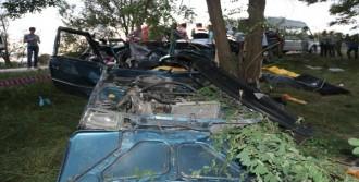 Kazada Bir Aile Yok Oldu