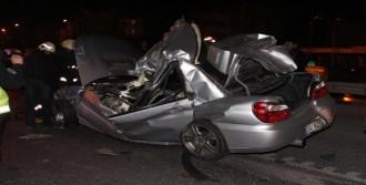 Otomobilden Yola Fırlayan Sürücü Öldü