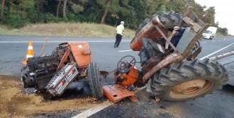 91 Yaşındaki Sürücü Öldü