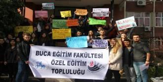 Özel Eğitim Bölümü Öğrencilerinin İsyanı