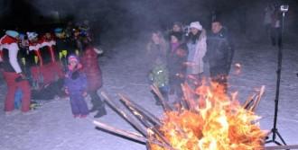 Palandöken'de Gece Kayaklı Sezon Açılışı