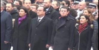 Paris'te Hayatını Kaybedenler Anıldı
