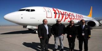 Pegasus'un 50. Uçağının İlk Uçuşu Nevşehir Oldu