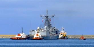 ABD Savaş Gemisi Limandan Ayrıldı