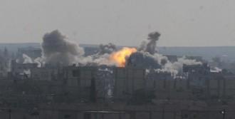 Kobani'de Çatışma Şiddetlendi