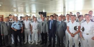 Piri Reis Üniversitesi Gemisi İnebolu'da