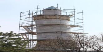 Cami Minaresi Restore Ediliyor
