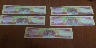 Sahte Paralar Polise Takıldı