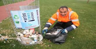 Plastik Şişe Kumbaraları Çöplüğe Döndü