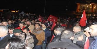 PÖH'ler Ağrı'dan Afrin'e Uğurlandı
