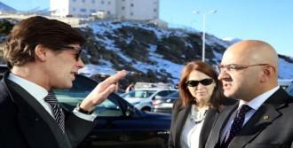 Portekiz Büyükelçi, Erciyes'e Hayran Kaldı