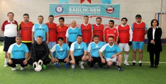 Psikolojik Hastalar, Futbol Turnuvasında Ter Döktü