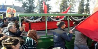 Aziz Güler Gazi Mezarlığı'nda Toprağa Verildi