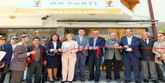 AK Parti Seçim Bürosunu Açtı