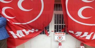 MHP Seçim Bürosu'nu Mühürlendi