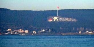 Savaş Gemisi Akdeniz'e İniyor