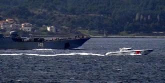Rus Savaş Gemisi Karadeniz'e Çıkıyor