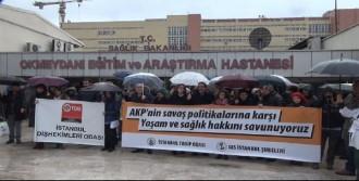 Müezzinoğlu'nun Açıklamalarına Protesto