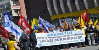 Samsun ve Çorum'da IŞİD Protestosu