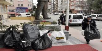 Samsun'da Kaçak Sigara Operasyoru