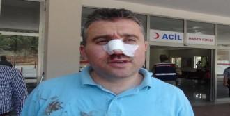 Sandık Başkanı Dövüldü