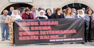 Şanlıurfa'da Çocuk İstismarına Tepki Eylemi